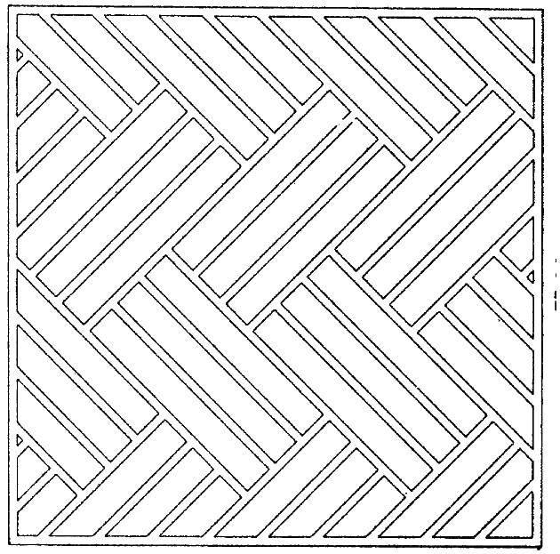 Раскраска Узор из прямых линий Скачать ,фигуры, линии,.  Распечатать