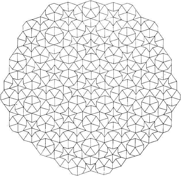 Раскраска Звездочки и треугольнички Скачать ,фигуры, узоры, звездочки,.  Распечатать