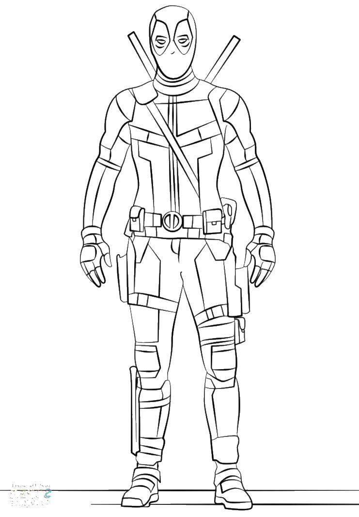 Раскраска дэдпул Скачать Персонаж из мультфильма, Winx.  Распечатать ,Винкс,