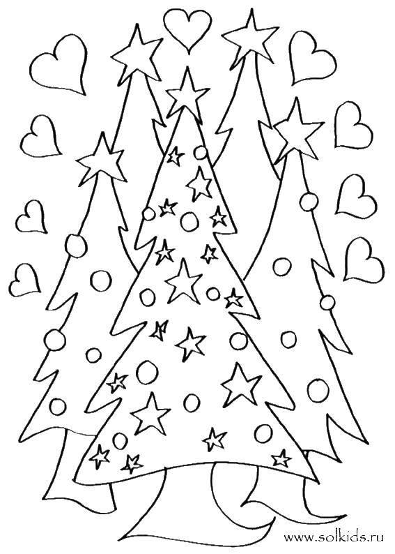 Раскраска  Скачать Подарки, праздник.  Распечатать ,подарки,