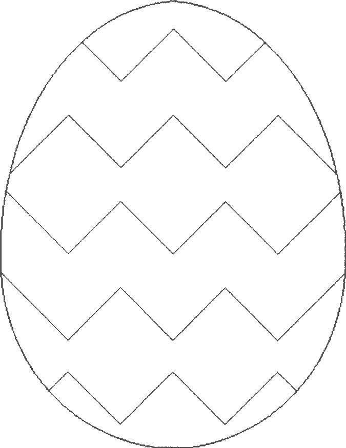 Раскраска Узоры для раскрашивания яиц Скачать маска, маски, черепашки ниндзя.  Распечатать ,Маски,