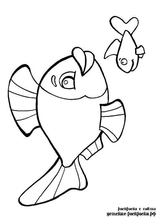Розмальовки рибка 2f3ff955cddbd