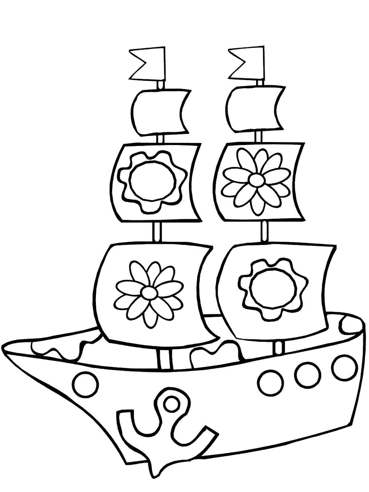 Раскраска игрушки Скачать ,военная техника, танк, спецтехника,.  Распечатать