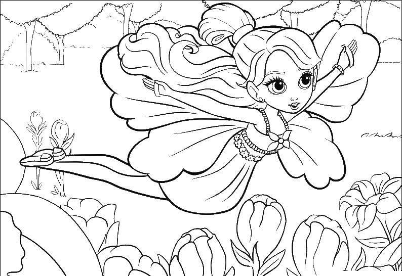Раскраска Для девочек Скачать бабочки, крылья, узоры, антистресс.  Распечатать ,бабочки,