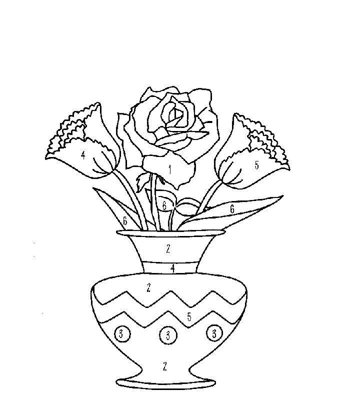 Раскраска цветы Скачать Дисней, принцесса.  Распечатать ,Диснеевские мультфильмы,