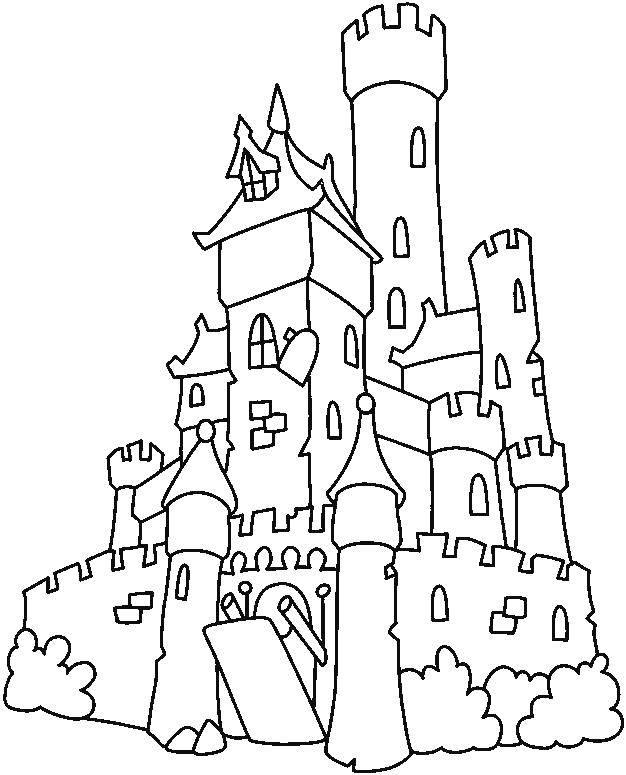 Раскраска замки Скачать Дисней, Эльза, Холодное сердце, принцесса.  Распечатать ,раскраски холодное сердце,