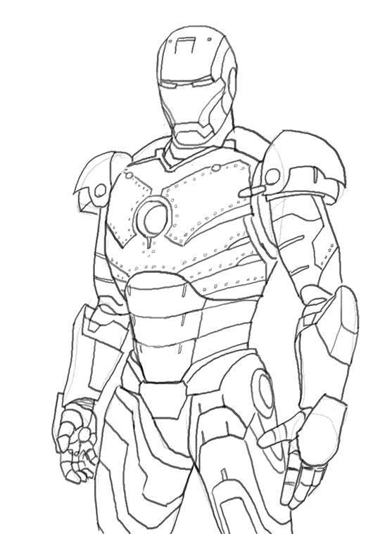 Название: Раскраска Грозный айрон мэн. Категория: Комиксы. Теги: Комиксы, Железный человек.