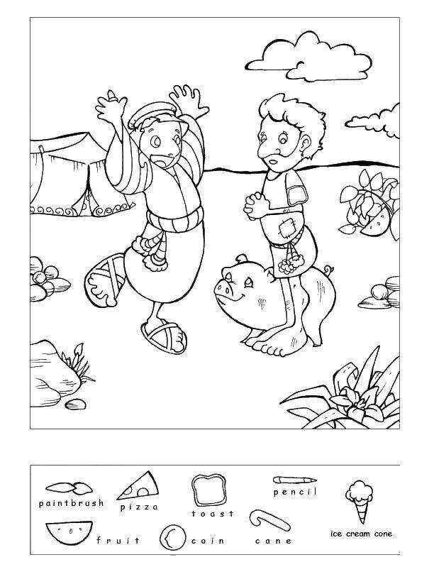 Раскраска Найди предметы Скачать гимнастика, гимнастка, спорт.  Распечатать ,гимнастика,