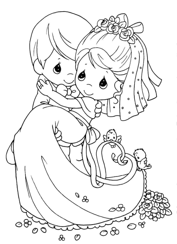 Раскраска Свадьба Скачать лего, звездные воины.  Распечатать ,Лего,