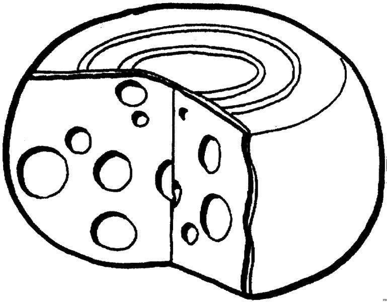 Раскраска Еда Скачать украшения, кольца, бриллиант.  Распечатать ,кольцо,