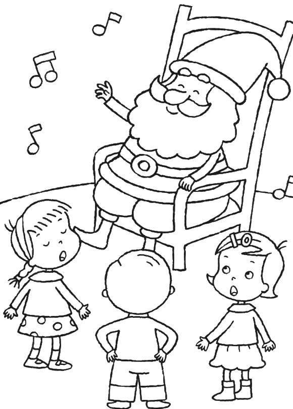 Раскраска Рождество Скачать руки, ладони, для вырезания.  Распечатать ,Контур руки и ладошки для вырезания,