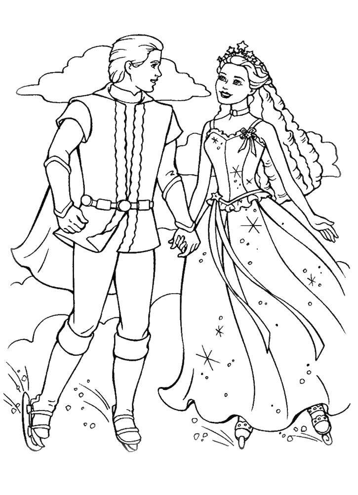 Раскраска Свадьба Скачать Рептилия, лягушка.  Распечатать ,Раскраски для малышей,