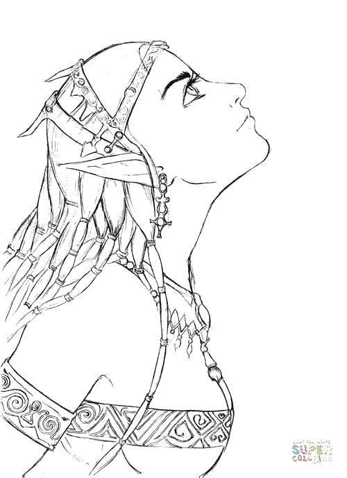 Раскраска Эльфы Скачать ,черепашка, ниндзя, микеланджело,.  Распечатать