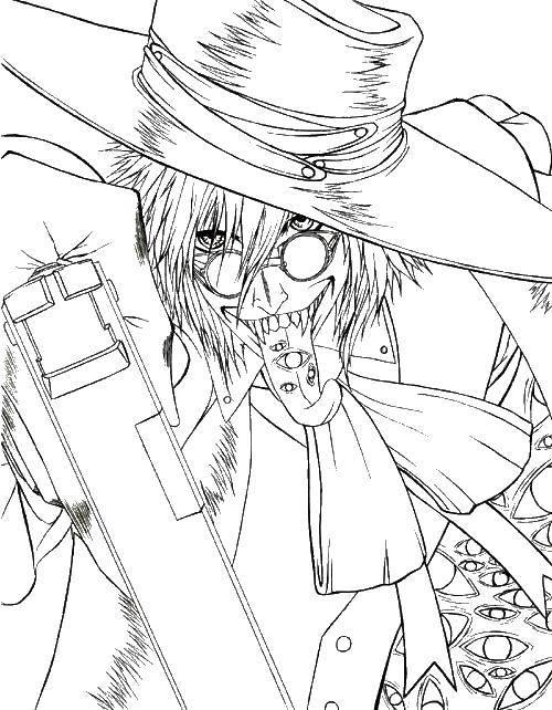 Раскраски аниме, Страница:17.