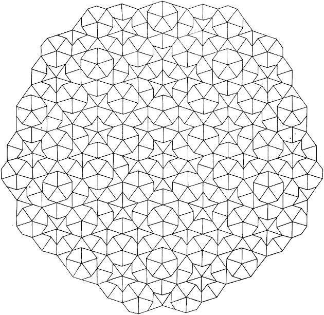 Раскраска Звездные узорчики. Скачать Узоры, геометрические.  Распечатать ,С геометрическими фигурами,