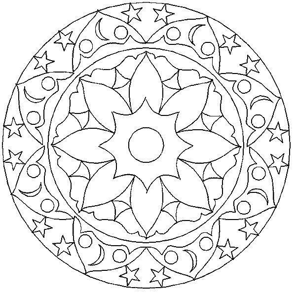 раскраски раскраска тарелка с красивыми узорами раскраски