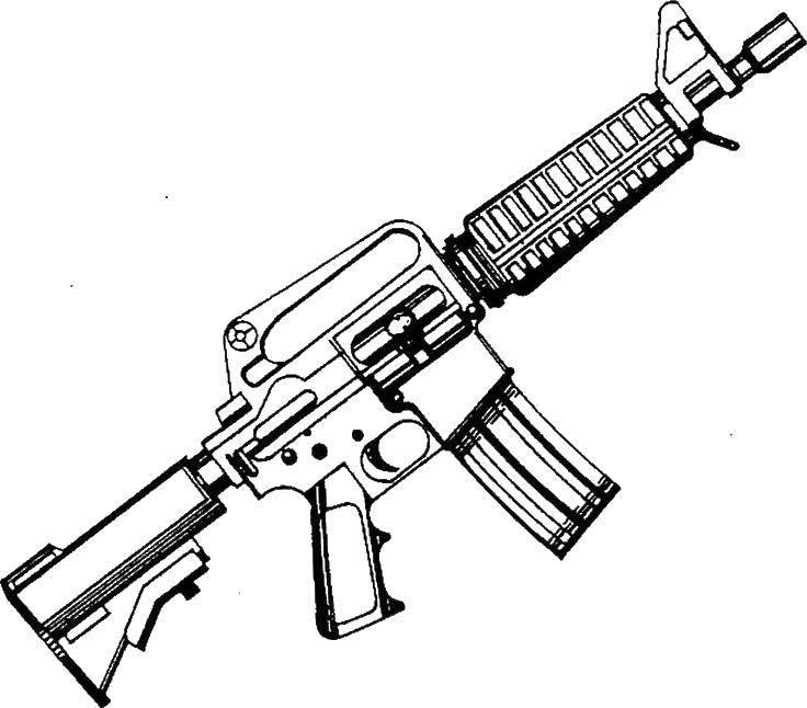 Раскраски оружие, Раскраски на праздники.
