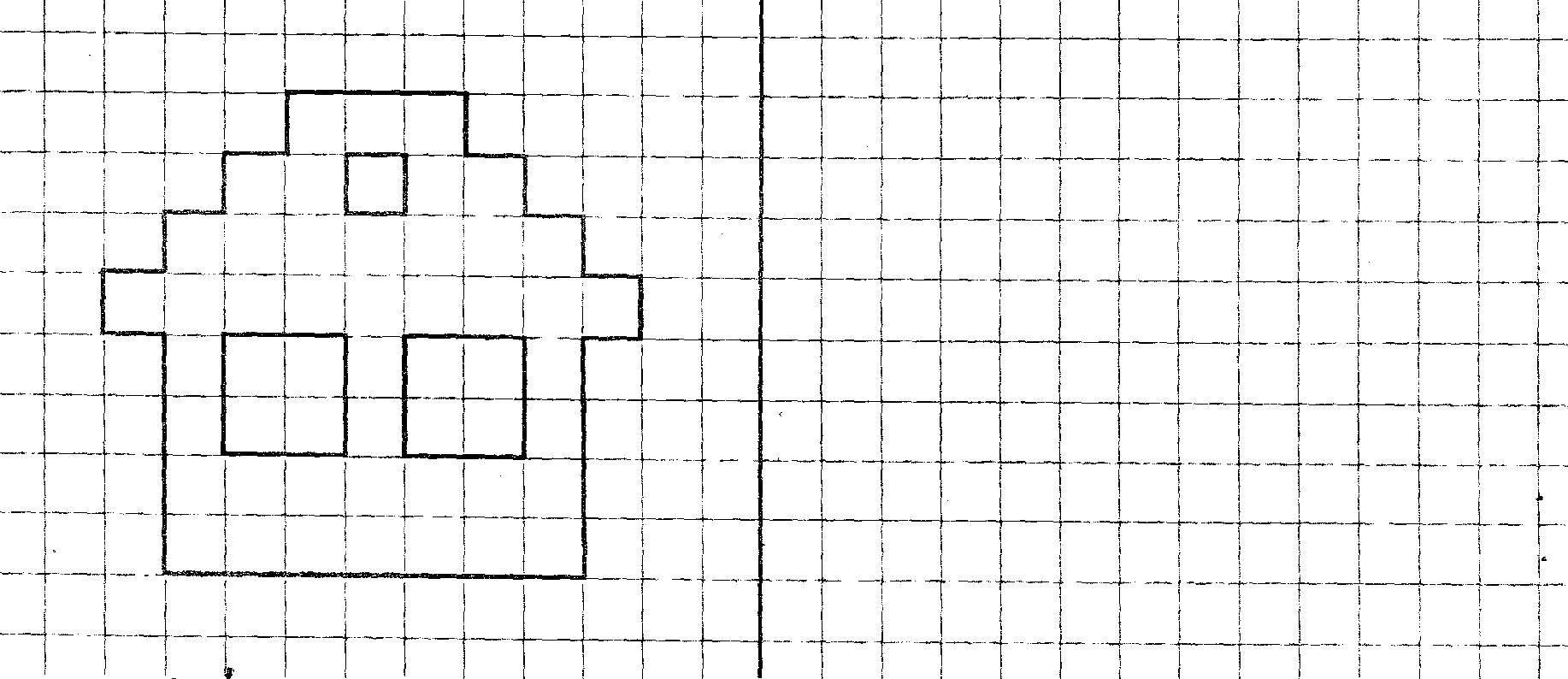 Раскраска Скопируй рисунок по клеточкам Скачать ,Образец, обвести по контуру, клеточки,.  Распечатать