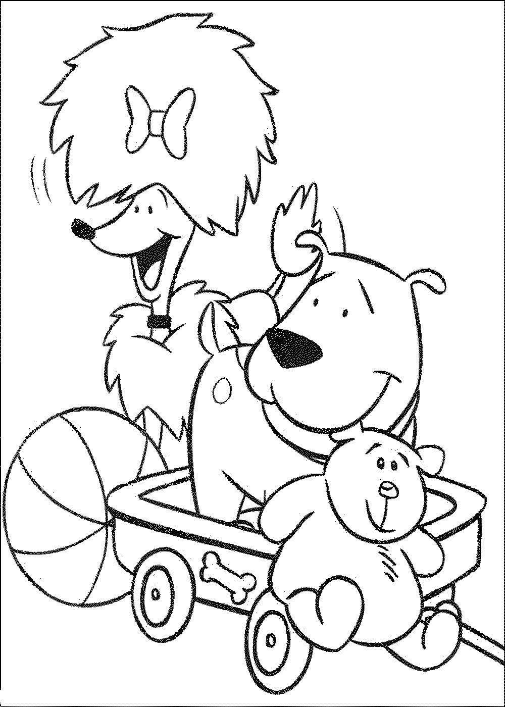 раскраски собаки раскраска собаки с игрушками домашние