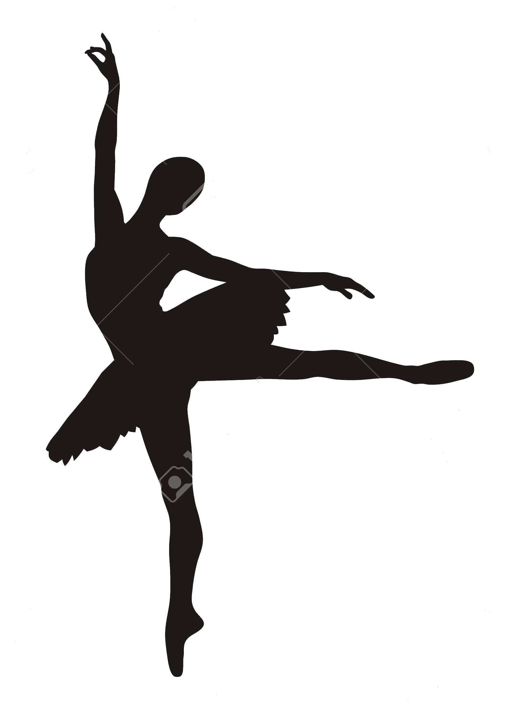 Раскраска Контур балерины Скачать балерина, контуры.  Распечатать ,контуры балерины для вырезания,