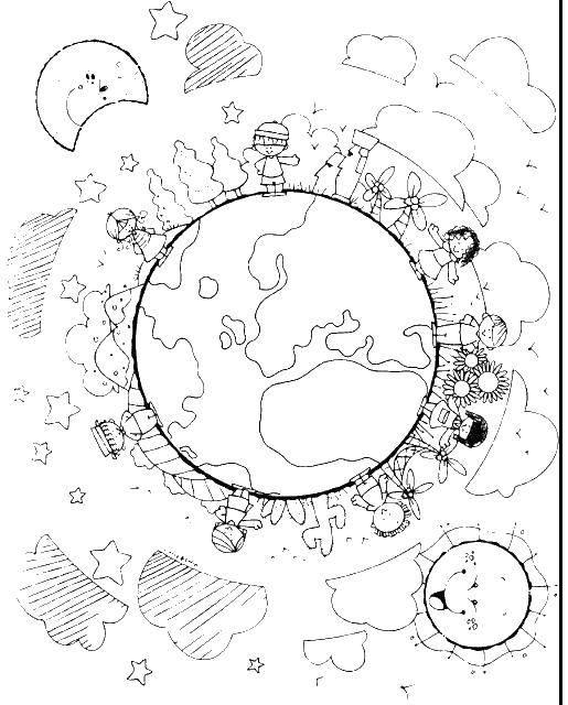 Раскраска космос Скачать животные, поросенок, свинка.  Распечатать ,животные,