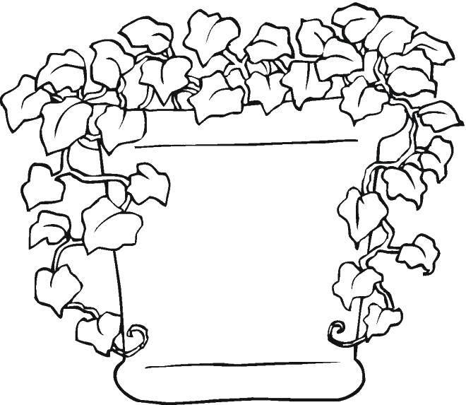 Раскраска растения Скачать единорог, пони.  Распечатать ,Пони,