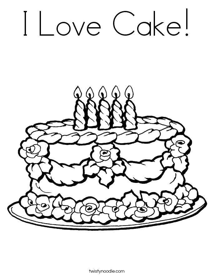 Раскраска торты Скачать Монстр хай, девочки.  Распечатать ,Монстр хай,