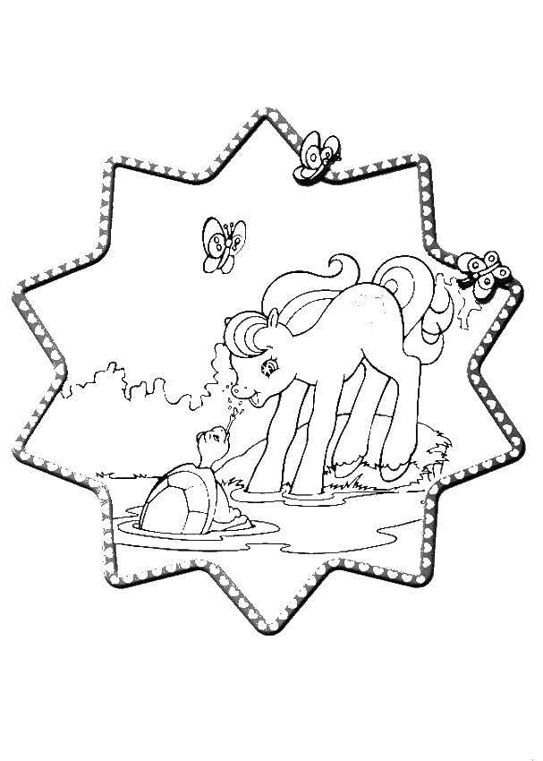 Раскраска мой маленький пони Скачать Джейк, пираты, Нетландия.  Распечатать ,Джейк и пираты Нетландии,
