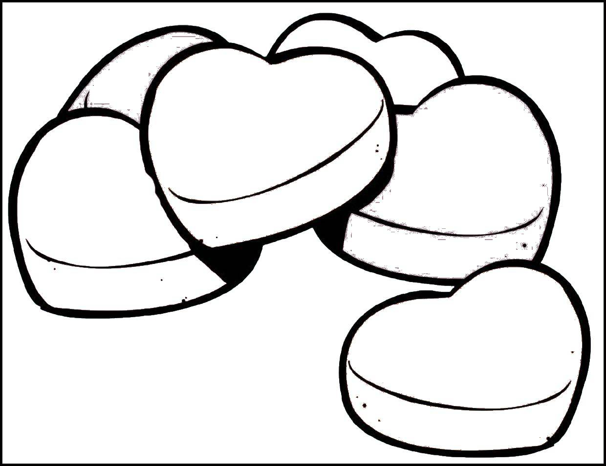 Coloring cookies in the shape of hearts category valentines day tags valentines day