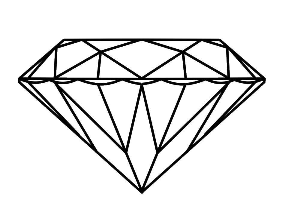 раскраски раскраска алмаз кольцо раскраски детские