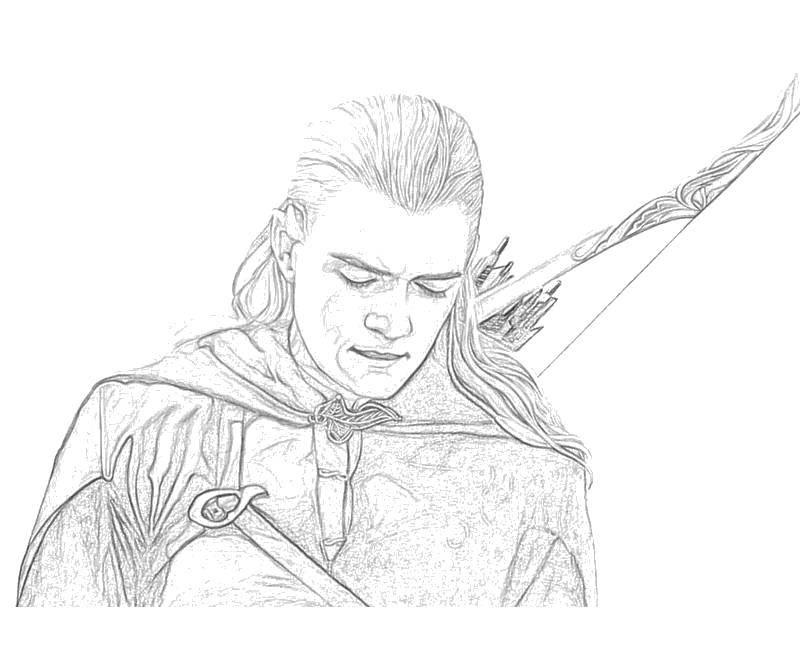 Название: Раскраска Леголас со стрелами. Категория: властелин колец. Теги: властелин колец.