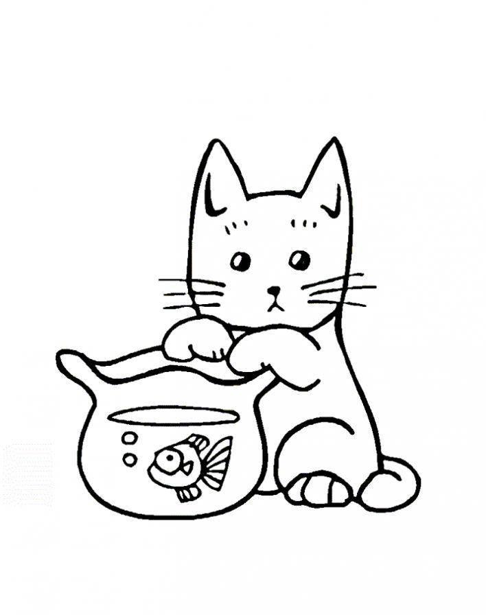 Раскраска домашние животные Скачать ,соник, еж, игры,.  Распечатать