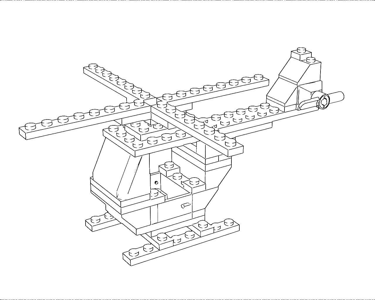 Раскраска Лего Скачать Животные, свинка.  Распечатать ,домашние животные,