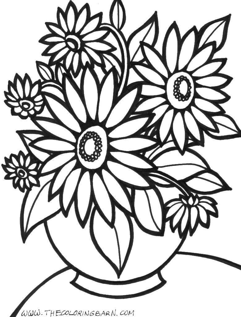 Раскраски вазе, Страница:1.