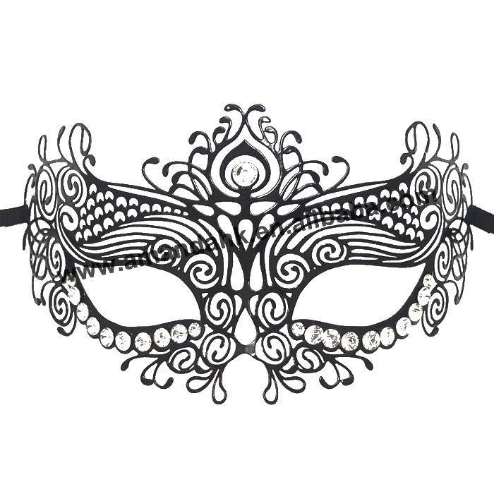 Раскраска Бальная маска Скачать маски, бал.  Распечатать ,Маски,