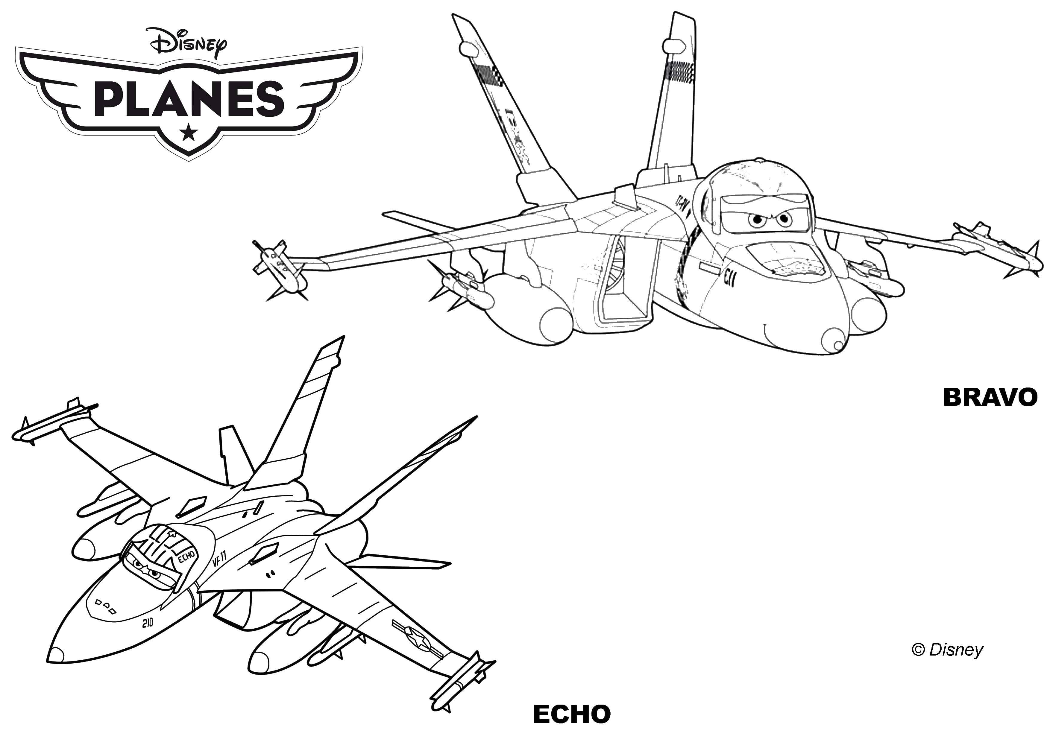 раскраски раскраска самолеты брава и ехо самолеты скачать