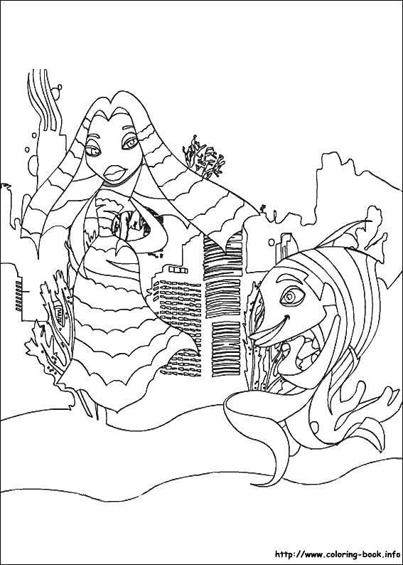 Раскраска Мультфильмы Скачать заяц, зима.  Распечатать ,Животные,