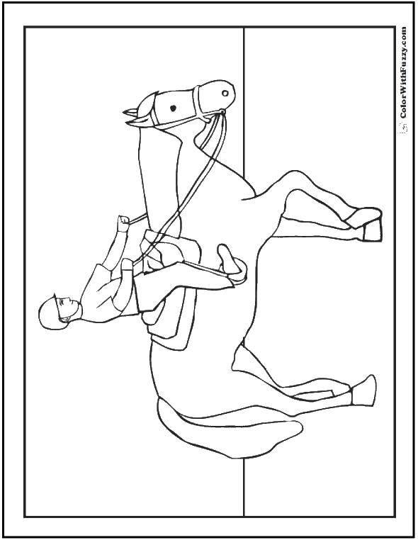 Раскраска лошади Скачать ,Спорт, волейбол, мяч,.  Распечатать