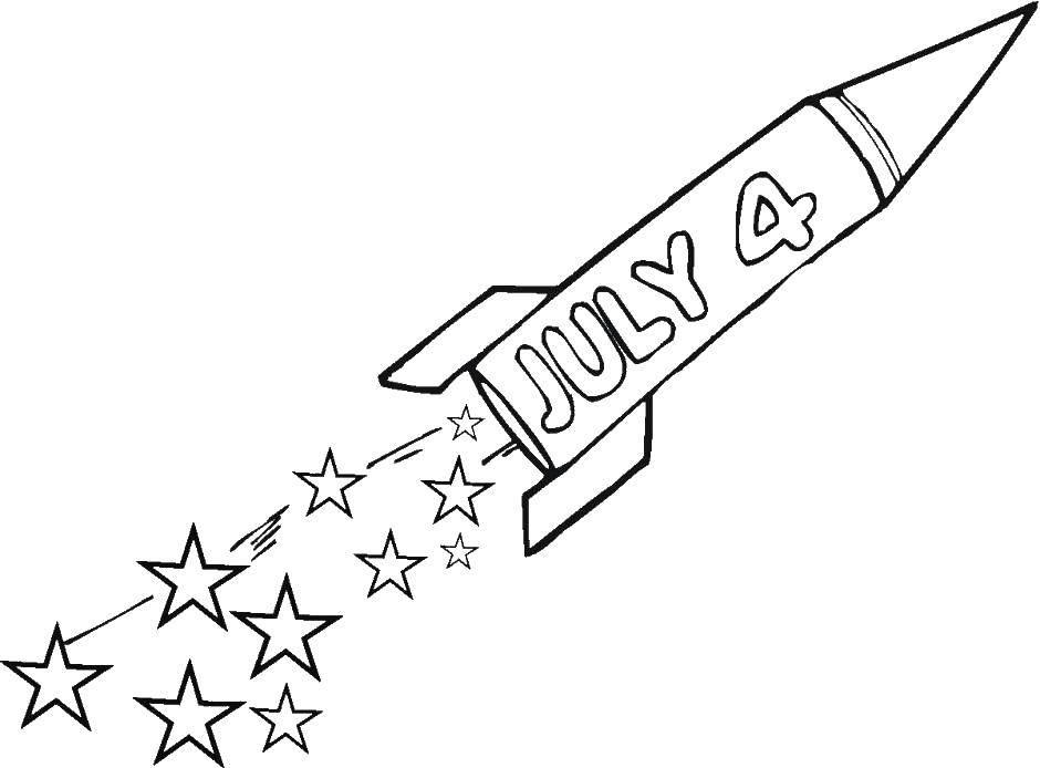 Раскраска ракеты Скачать робокар, Скулби, Клини.  Распечатать ,поли робокар,