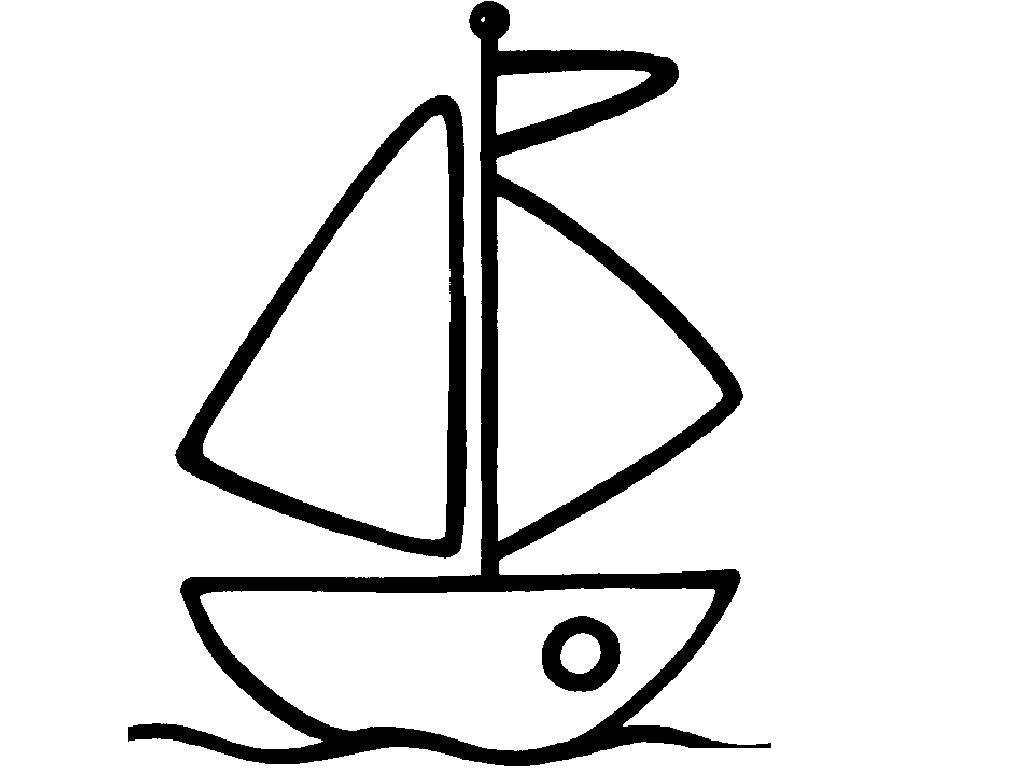 Трафареты лодок