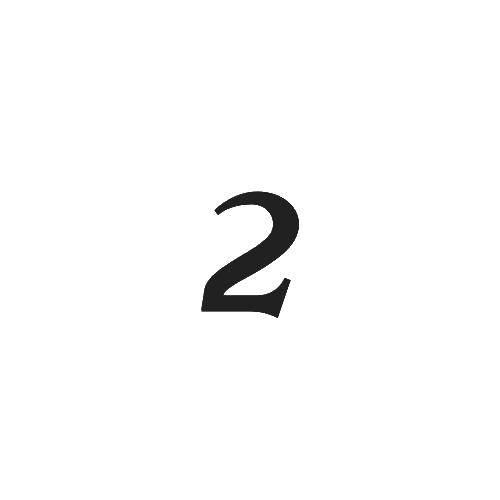 Раскраска Двойка. Скачать цифра, два.  Распечатать ,Цифры,