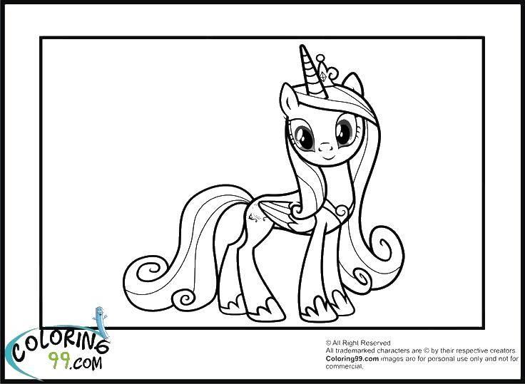 Название: Раскраска Корона и крылатый единорог. Категория: мой маленький пони. Теги: единорог, крылья, корона.