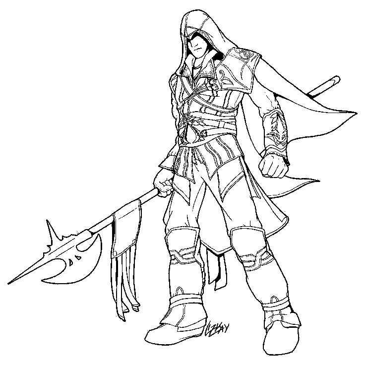 Раскраска военное Скачать ,Воин, рыцарь,.  Распечатать