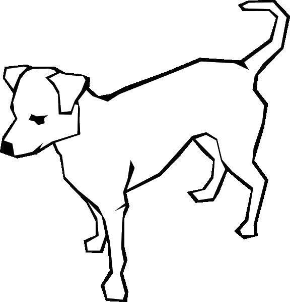 Раскраска Собака. Скачать домашние животные, собачки, собака.  Распечатать ,домашние животные,