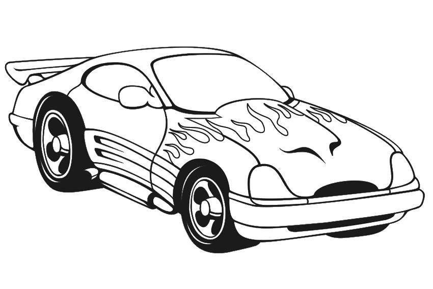Раскраска машины Скачать для мальчиков, рок, змеи.  Распечатать ,Для мальчиков,