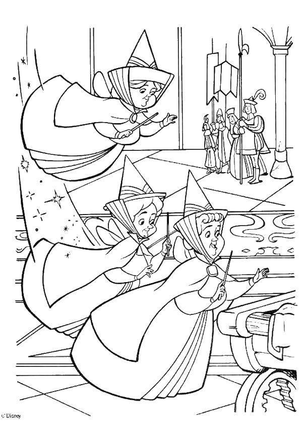 Раскраска золушка Скачать ,Персонаж из мультфильма,.  Распечатать