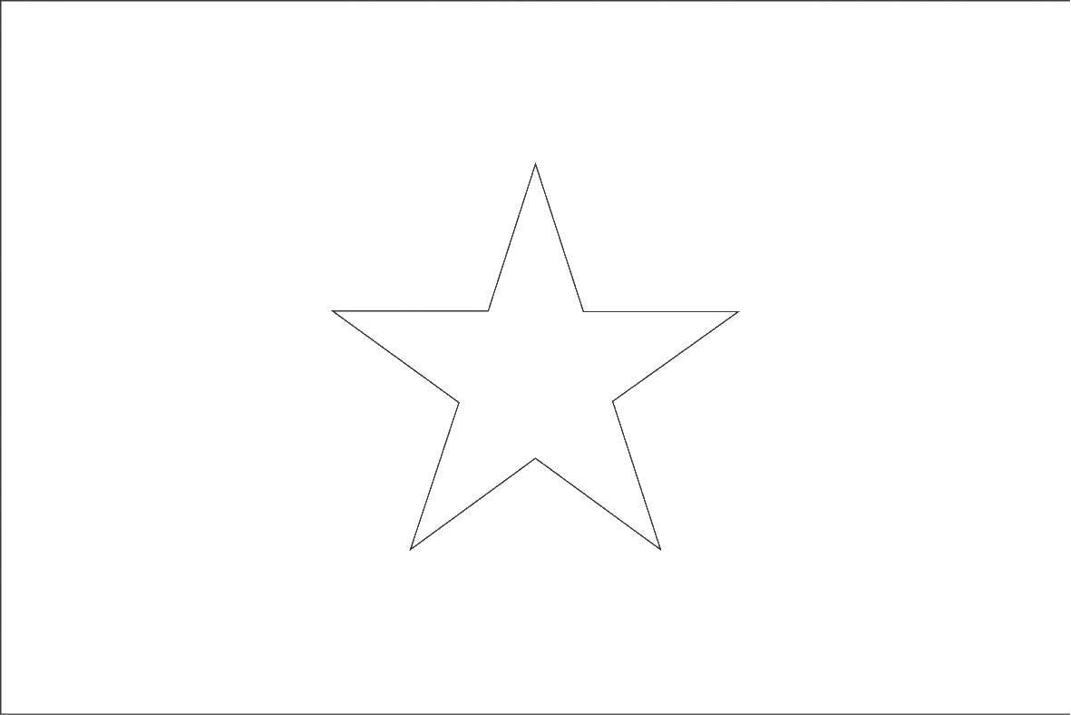 Раскраска Контур звезды Скачать звезда, контур.  Распечатать ,звезды,