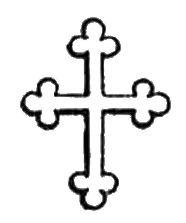 Раскраска Крест.. Скачать кресты, крест.  Распечатать ,Крест,