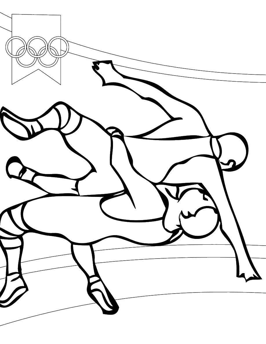 Раскраска Олимпийские игры Скачать игры, олимпиада.  Распечатать ,игры,