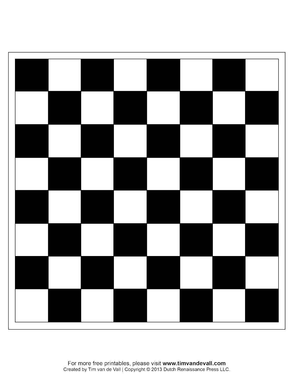 Раскраска Шахматная доска Скачать шахматы, доска.  Распечатать ,Шахматы,